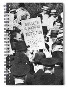 Steel Strike, 1937 Spiral Notebook