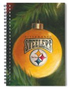 Steelers Ornament Spiral Notebook