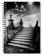 Steps At Chateau Vieux Spiral Notebook
