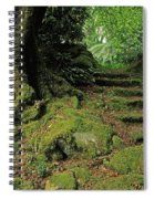 Steps In The Wild Garden, Galnleam Spiral Notebook