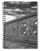 Steps Of Central Park In Black And White Spiral Notebook