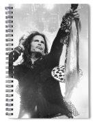 Steven Tyler Spiral Notebook