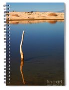 Stick In The Water Spiral Notebook