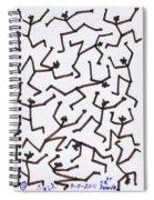 Stickmen Characters Nine Eleven Two Thousand Ten Spiral Notebook