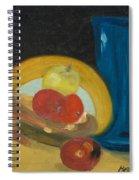 Still Life Of Fruit Spiral Notebook