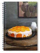 Still Life With Cake And Cactus Spiral Notebook