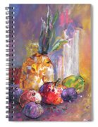 Still Life With Pineapple Spiral Notebook