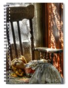 Still Waiting Spiral Notebook