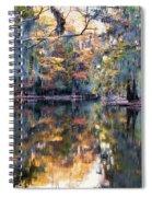 Still Waters - Autumn Reflections Spiral Notebook