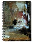 Stillness Of The Day Spiral Notebook