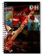 Sting In Concert Spiral Notebook
