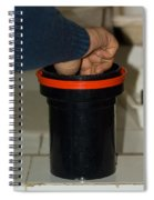 Stirring Up The Photo Shaker For Initial Print Development Spiral Notebook