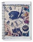 Stitch In Time Spiral Notebook