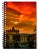 Stockholm In Autumn Spiral Notebook