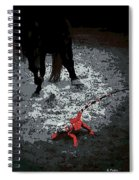 Stomping Mad Spiral Notebook