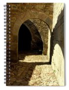 Stone And Shadows Spiral Notebook