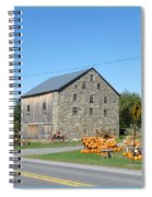 Stone Barn Spiral Notebook