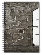 Stone Barn Window Cathedral Door Spiral Notebook
