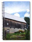 Stone Cottage Barn Spiral Notebook