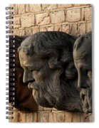 Stone Faces Spiral Notebook