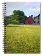 Stone Farmhouse In Vermont Spiral Notebook
