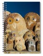 Stone Owls Spiral Notebook