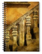 Stone Stairs And Balustrade. Spiral Notebook