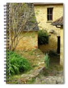 Stone Stairs To Hamlet Spiral Notebook