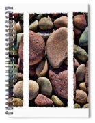 Stone Triptych Spiral Notebook