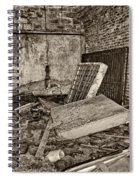 Stonehaven Rehab Sepia Spiral Notebook