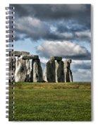 Stonehenge Landscape Spiral Notebook
