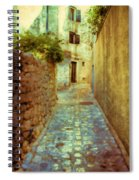 Stones And Walls Spiral Notebook