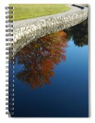 Stonewall And Autumn Reflections Spiral Notebook