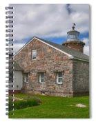 Stonington Light Spiral Notebook