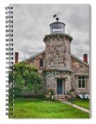 Stonington Lighthouse Museum Spiral Notebook