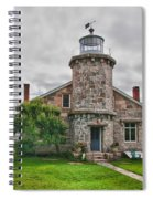 Stonington Lighthouse Museum Spiral Notebook