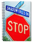 Stop Sign Sketchbook Project Down My Street Spiral Notebook