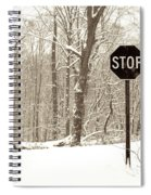 Stop Snowing Spiral Notebook