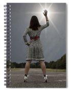Stop The Sun Spiral Notebook