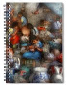 Store - The Busy Marketpalce Spiral Notebook