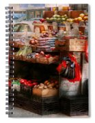 Store - Ny - Chelsea - Fresh Fruit Stand Spiral Notebook