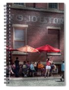 Storefront - Bastile Day In Frenchtown Spiral Notebook