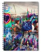Storefront - Tie Dye Is Back  Spiral Notebook