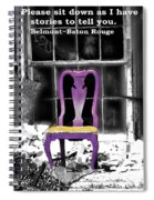 Stories  Belmont Baton Rouge Spiral Notebook