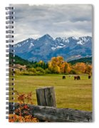Storm Above Sneffels Spiral Notebook