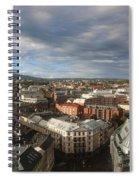 Storm Approaching Oslo Spiral Notebook