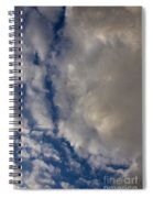 Storm Breaking Up Spiral Notebook