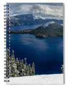 Storm Clearing At Discovery Point Spiral Notebook