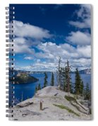 Storm Clearing From Discovery Point Spiral Notebook