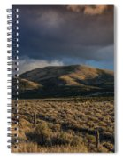 Storm Clearing Over Great Basin Spiral Notebook